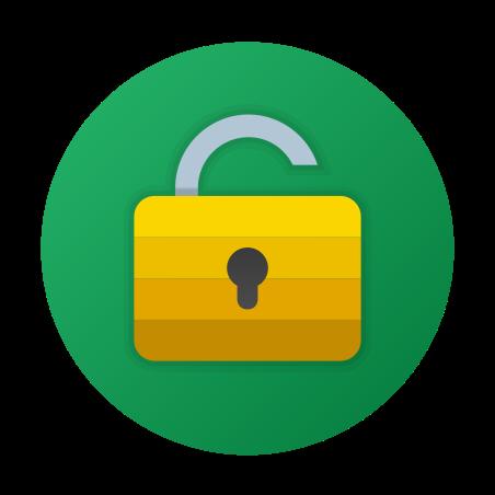 Unlock Private icon