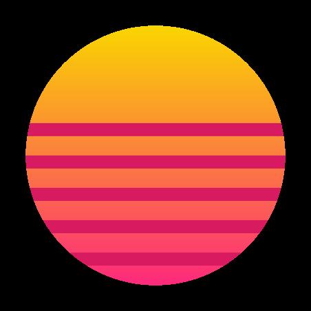Vaporwave icon
