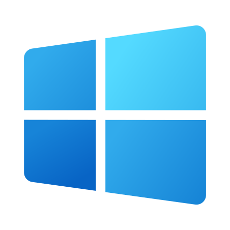 Windows 10 icon in Fluent