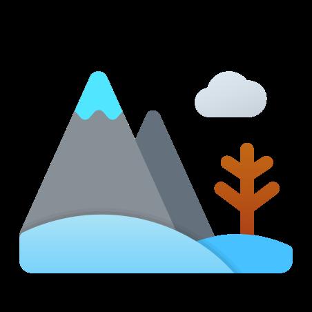 Winter Landscape icon in Fluent
