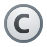 Creative Commons All Rights Reserved icon