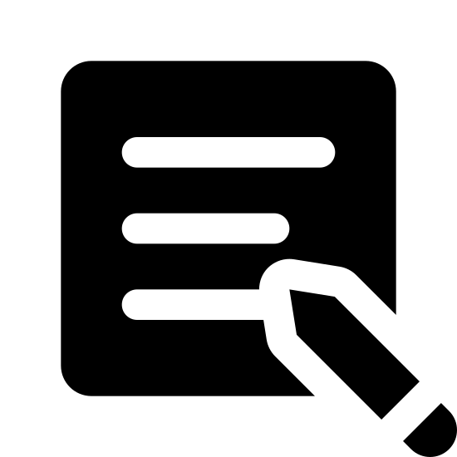 Inscription icon