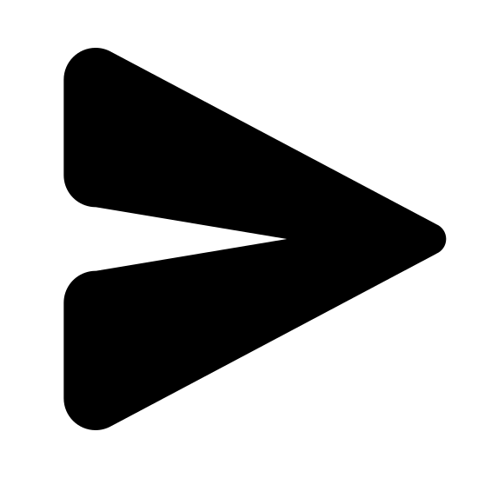 Avión de papel icon