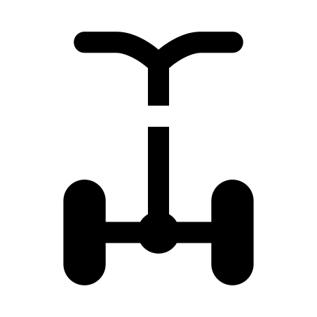 Segway icon in iOS Glyph