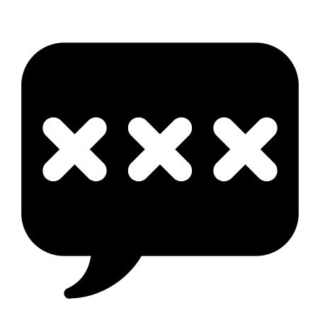 Authentication icon in iOS Glyph