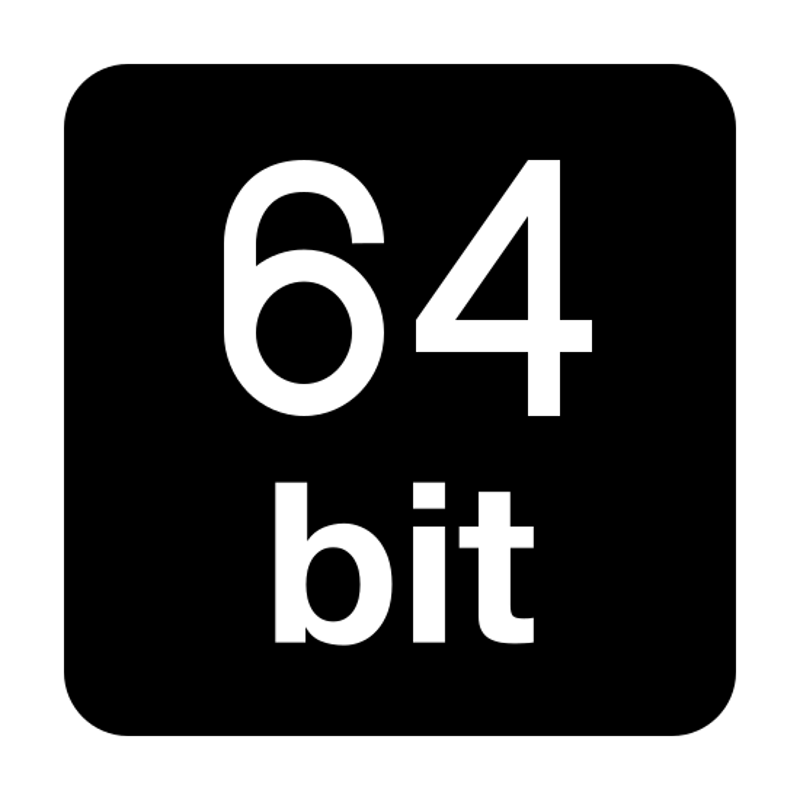 64-bit Filled icon