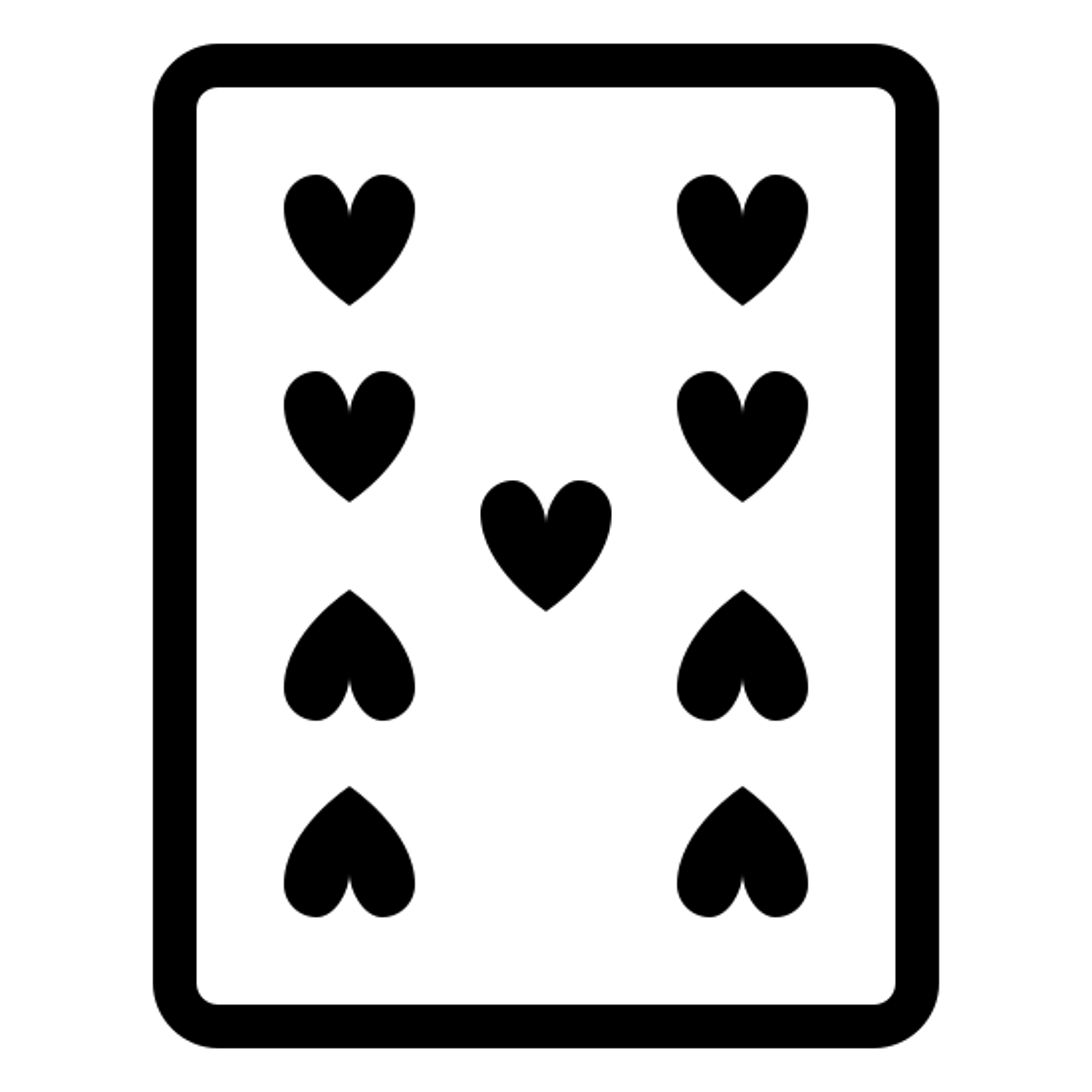 9 of Hearts icon