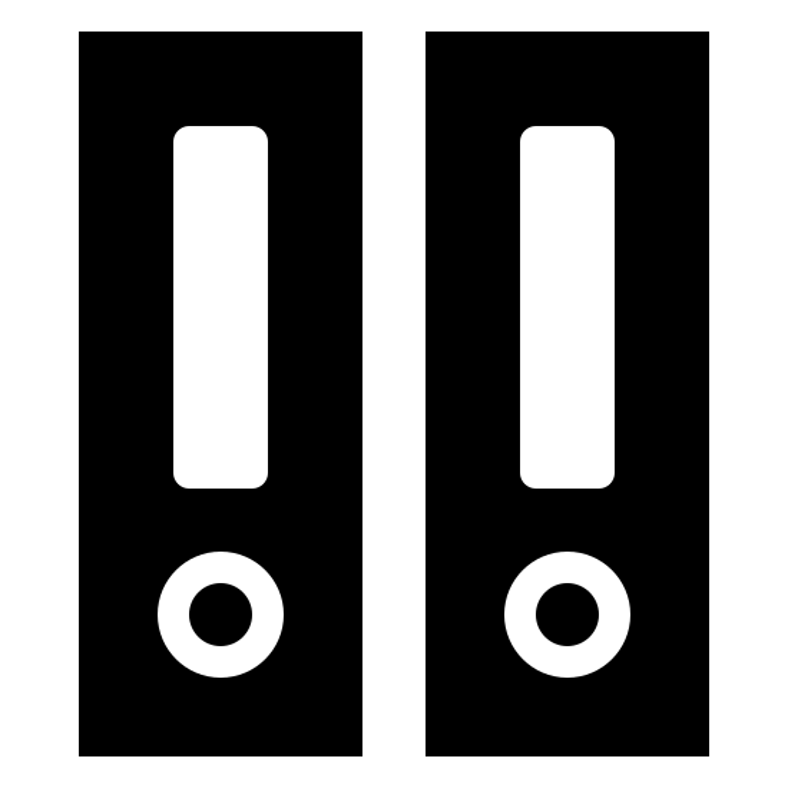 Binder Filled icon