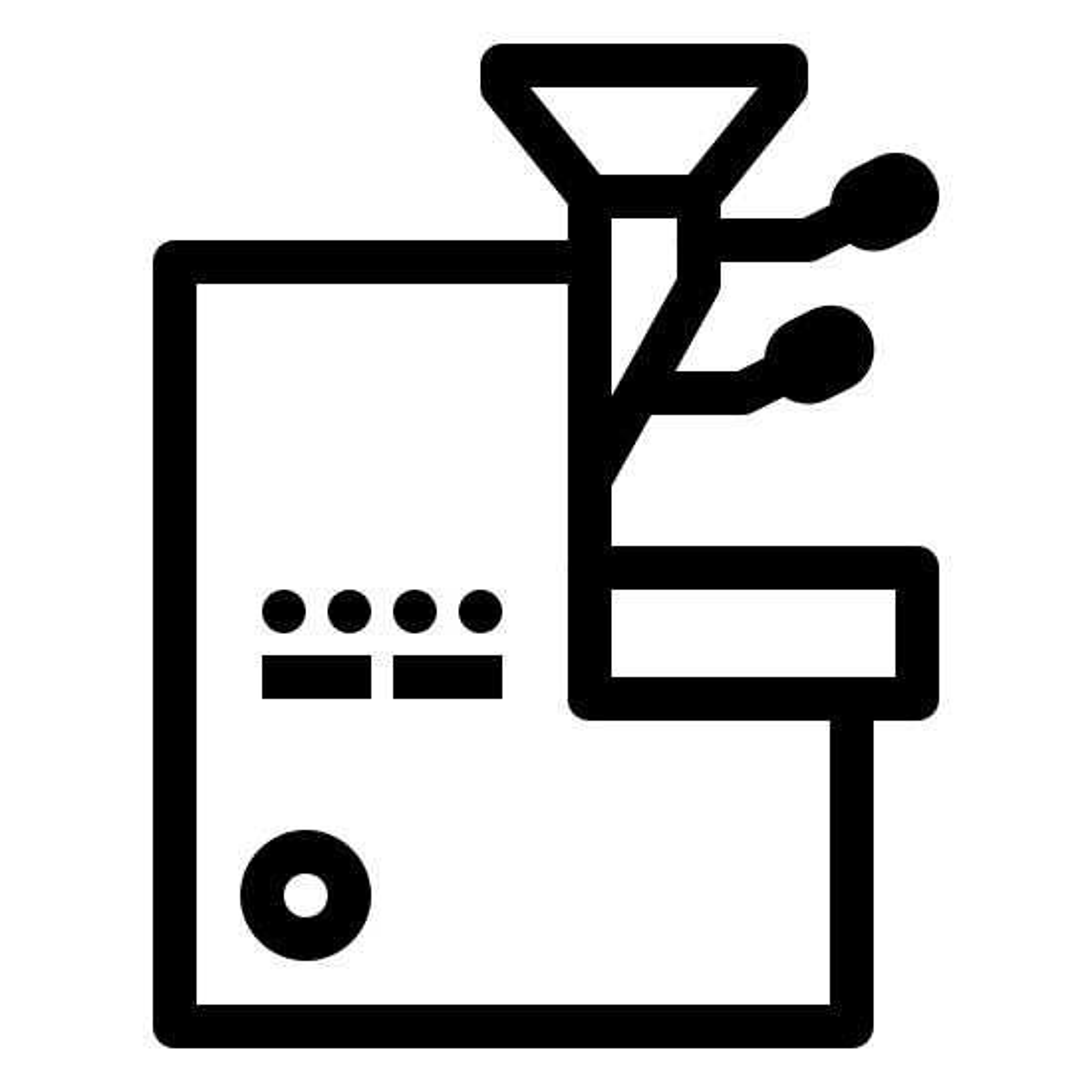Rożen kawy icon