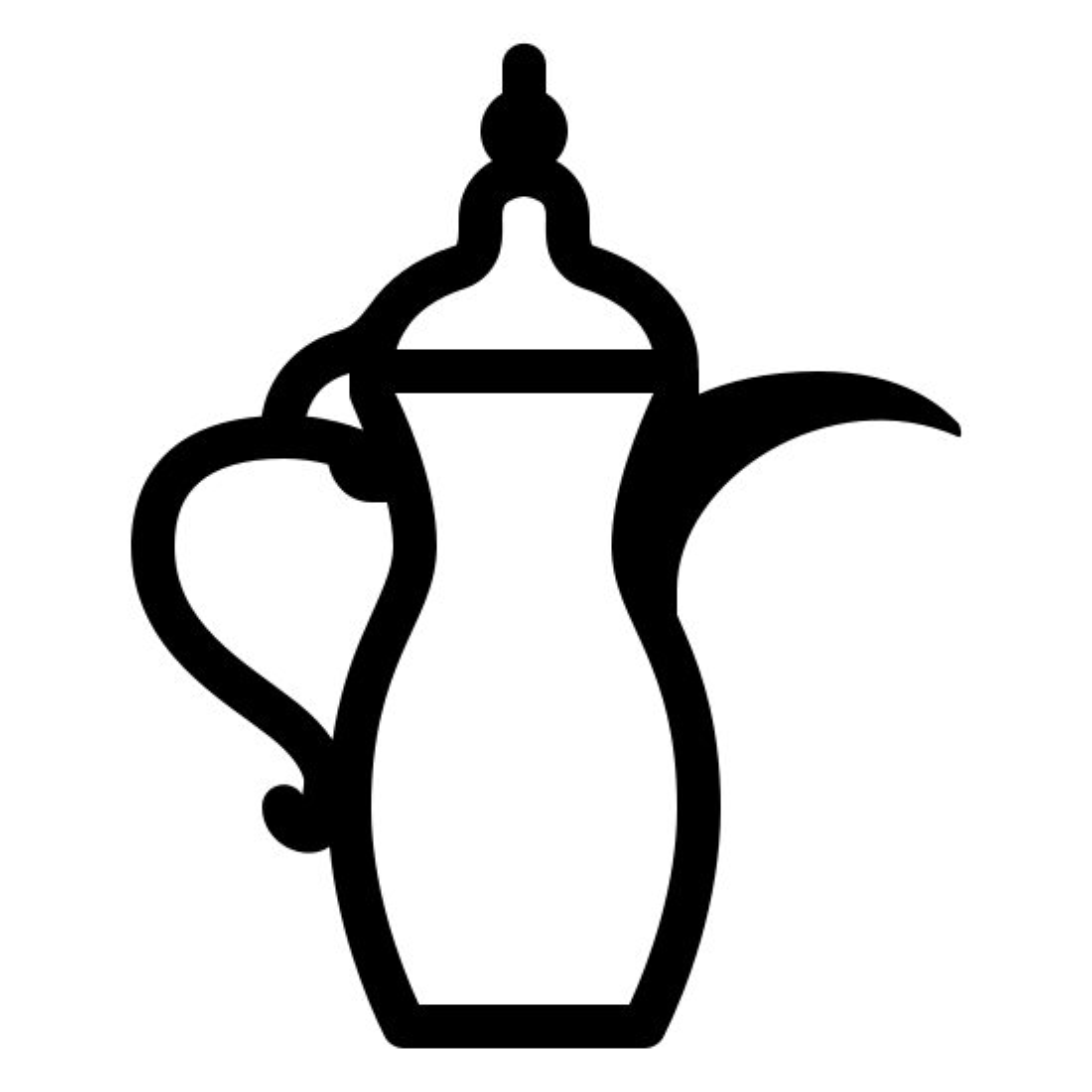 Emirati Traditional Coffee Pot icon