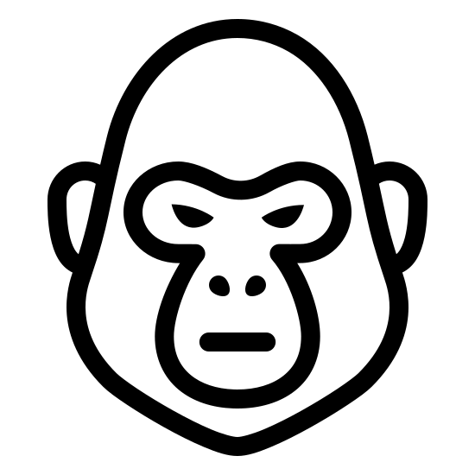 Harambe the Gorilla icon