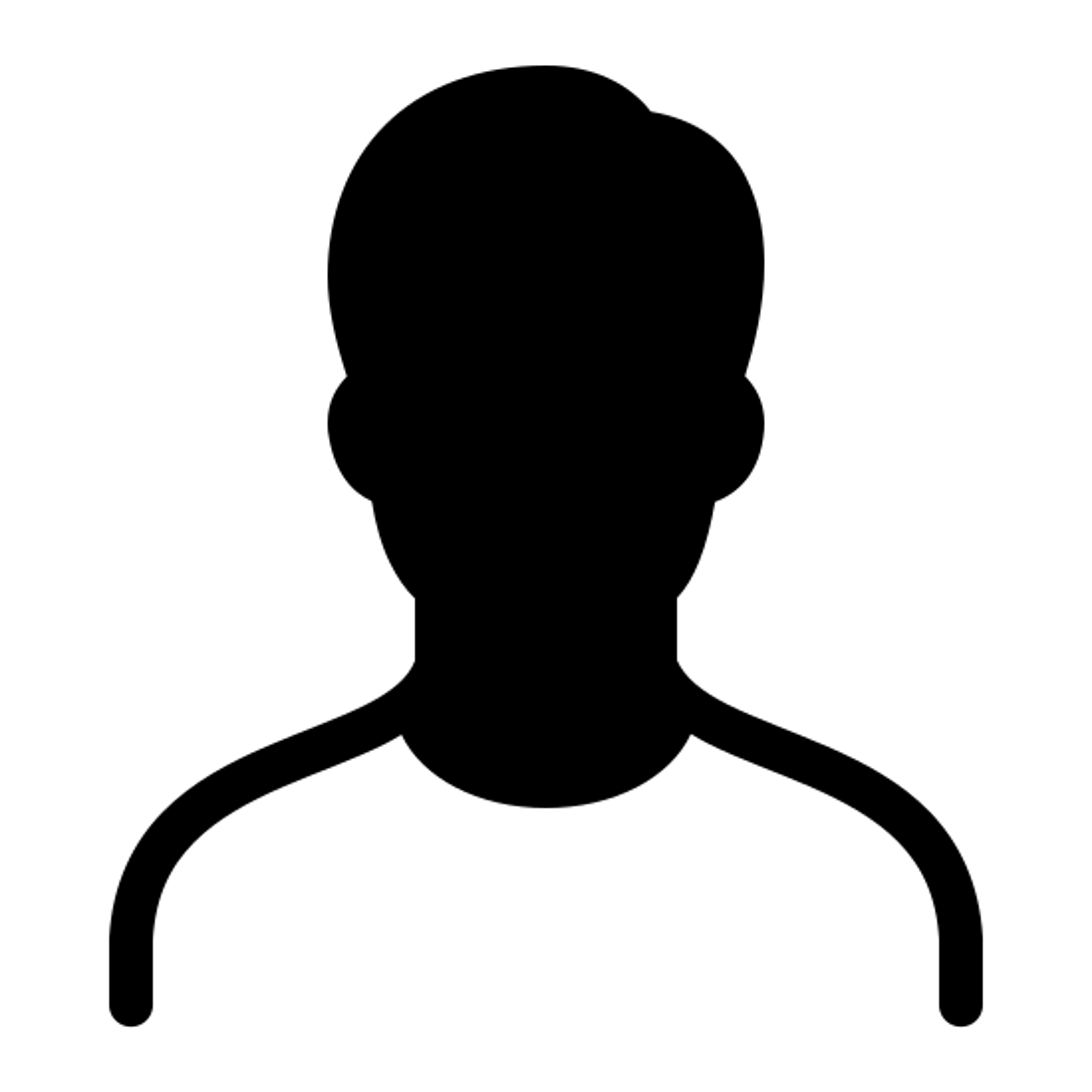 Head Massage Area Filled icon