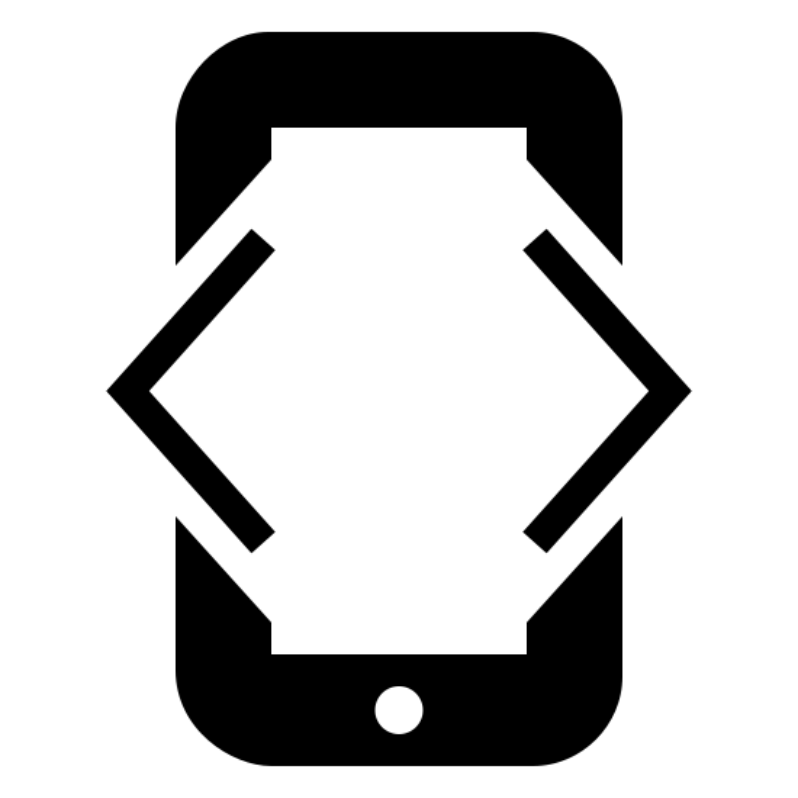 iOS Development Filled icon