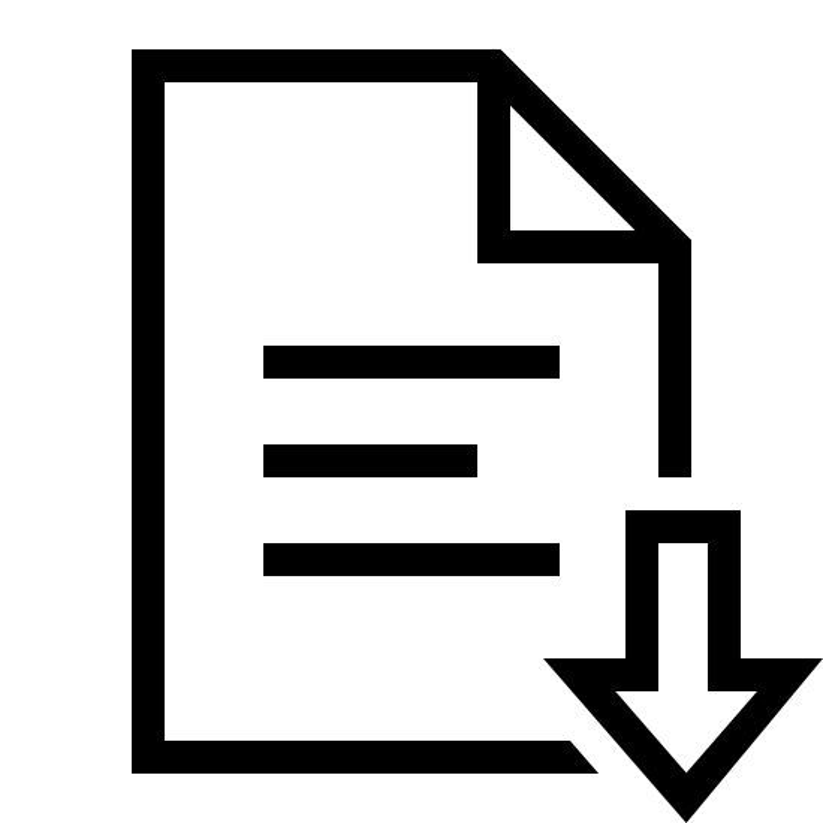 Otwórz dokument icon