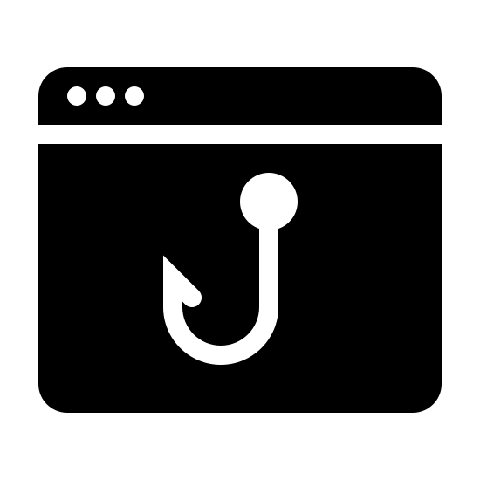 Phishing Filled icon