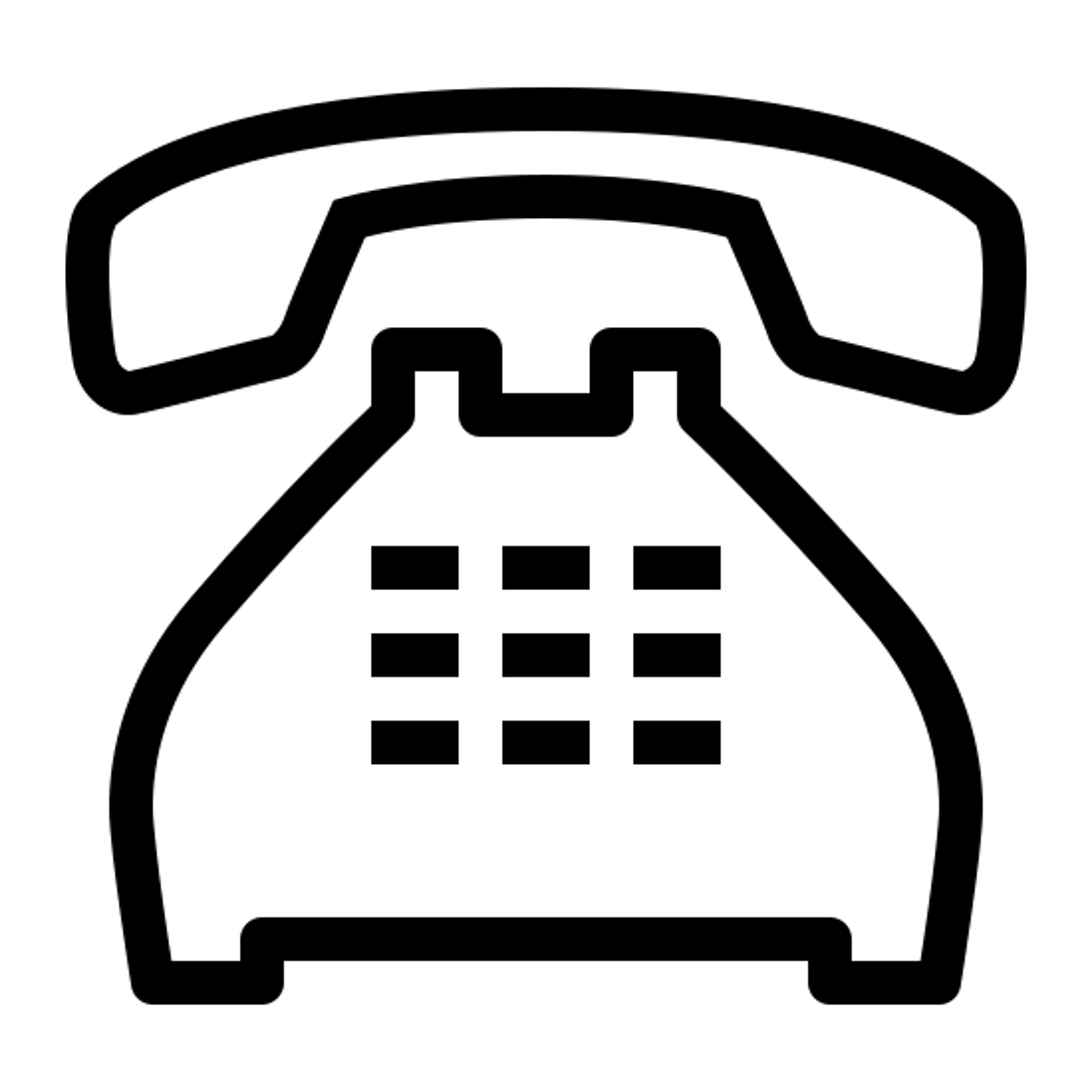 Nieużywany telefon icon
