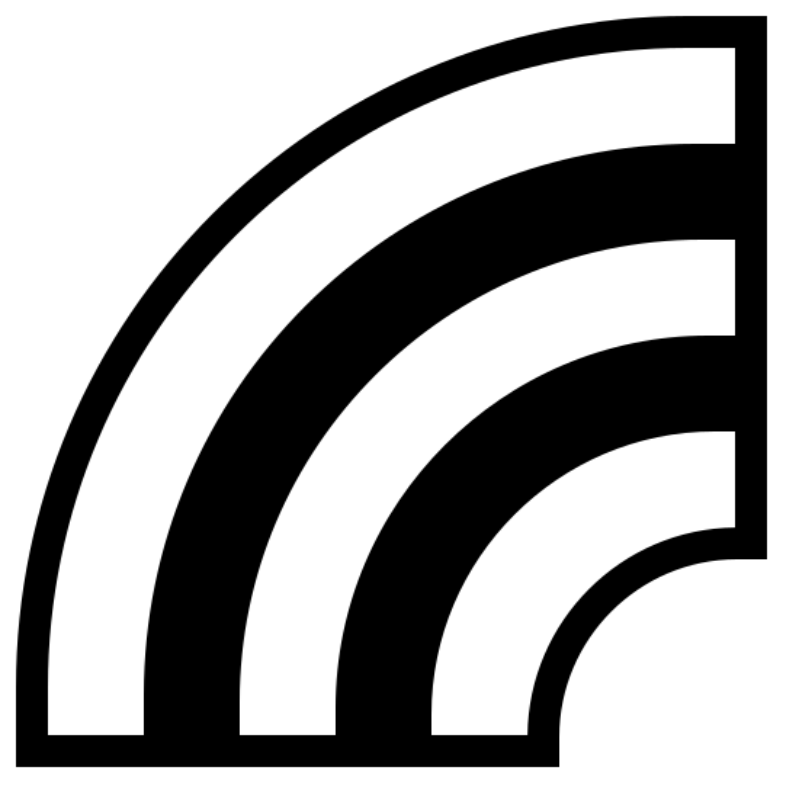 Rainbow Filled icon