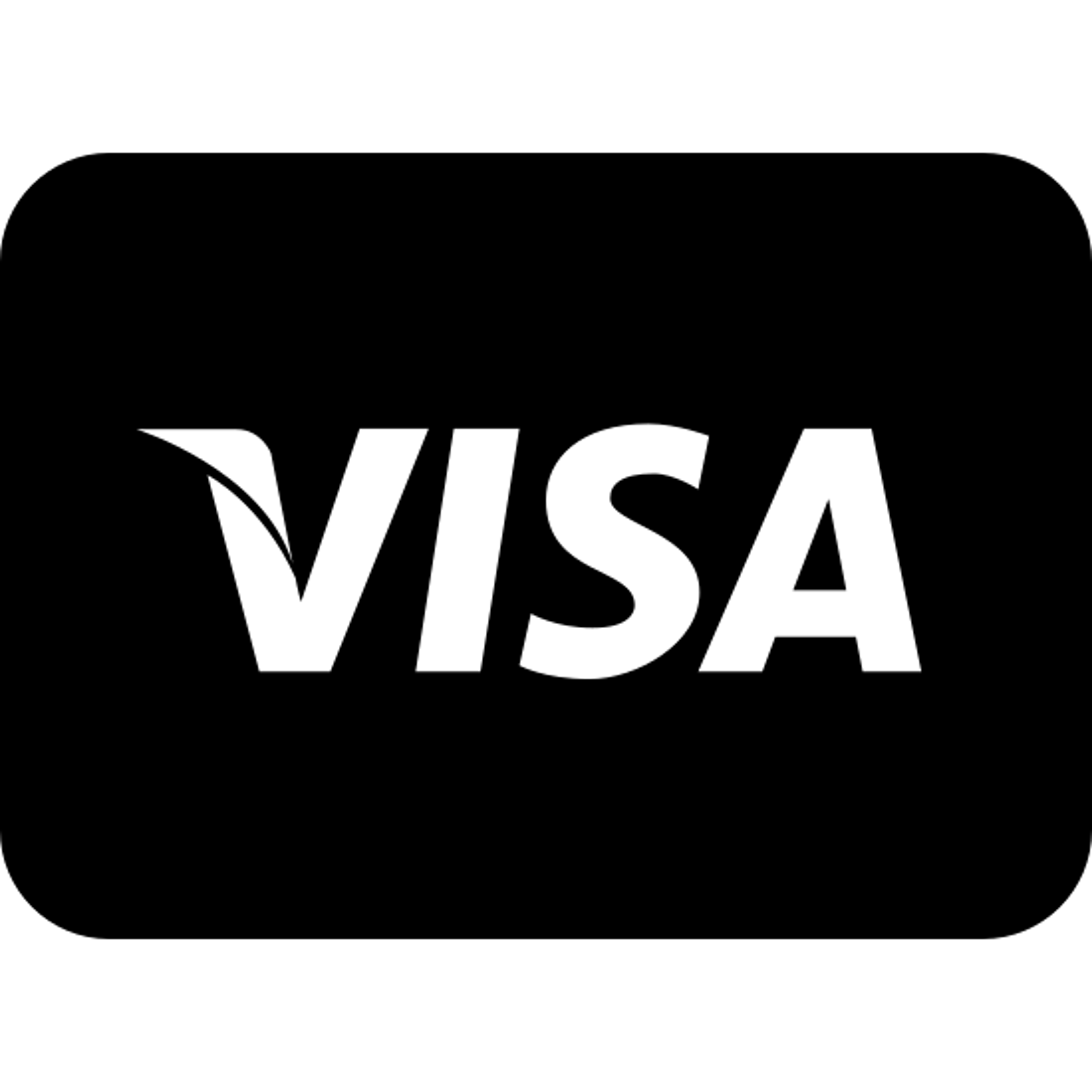 Visa Filled icon