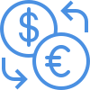euro exchange icon