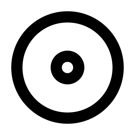 Initial State icon in Material Outlined