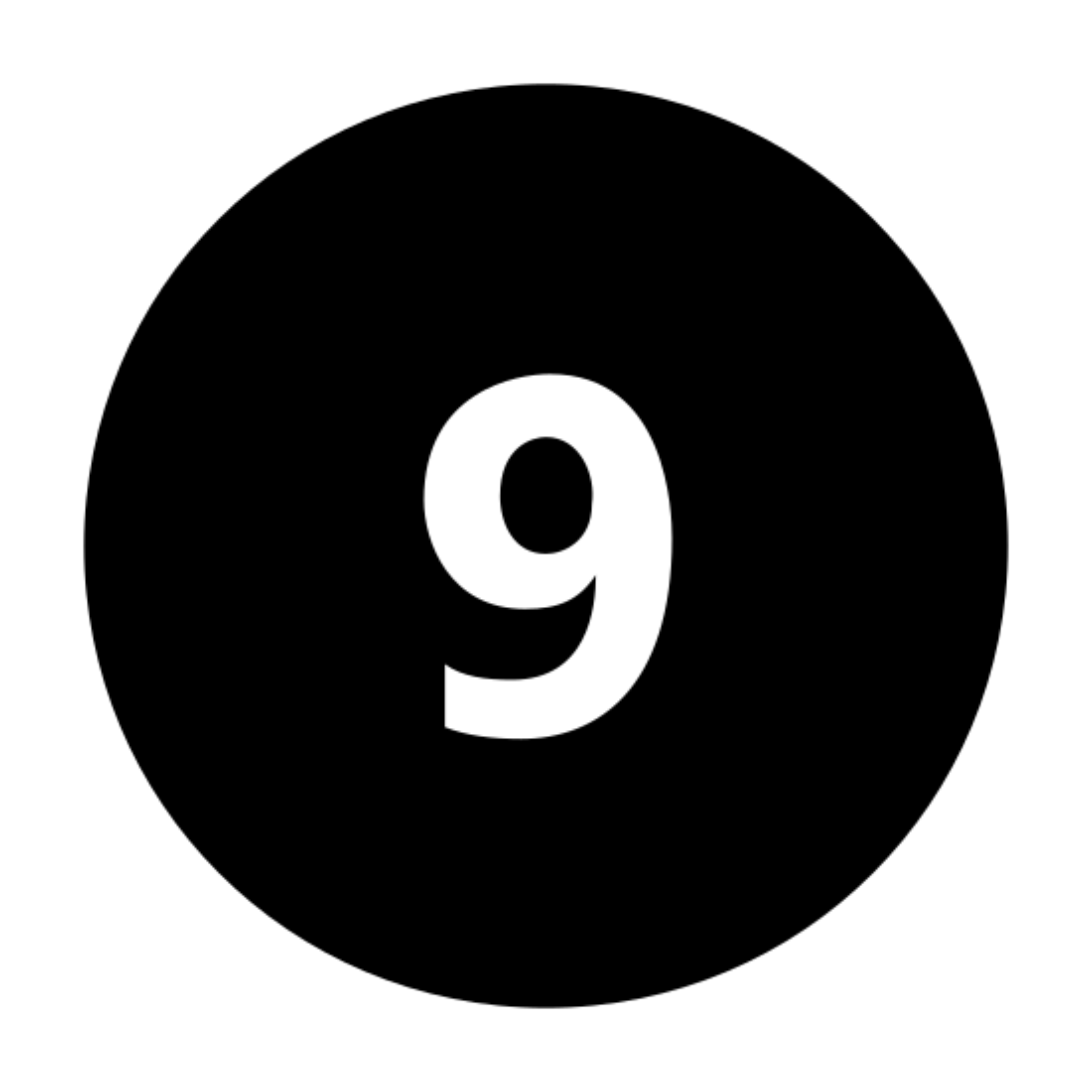 9 circulado C icon