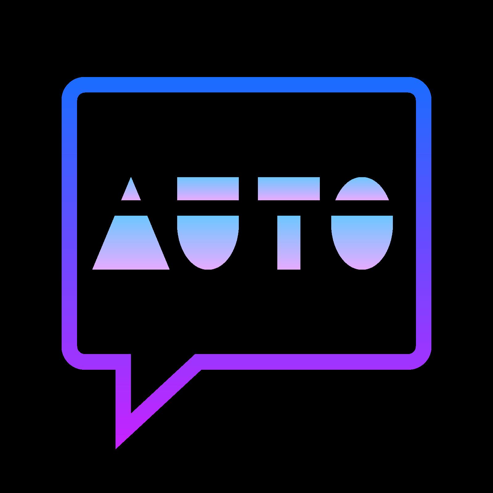 Auto SMS icon