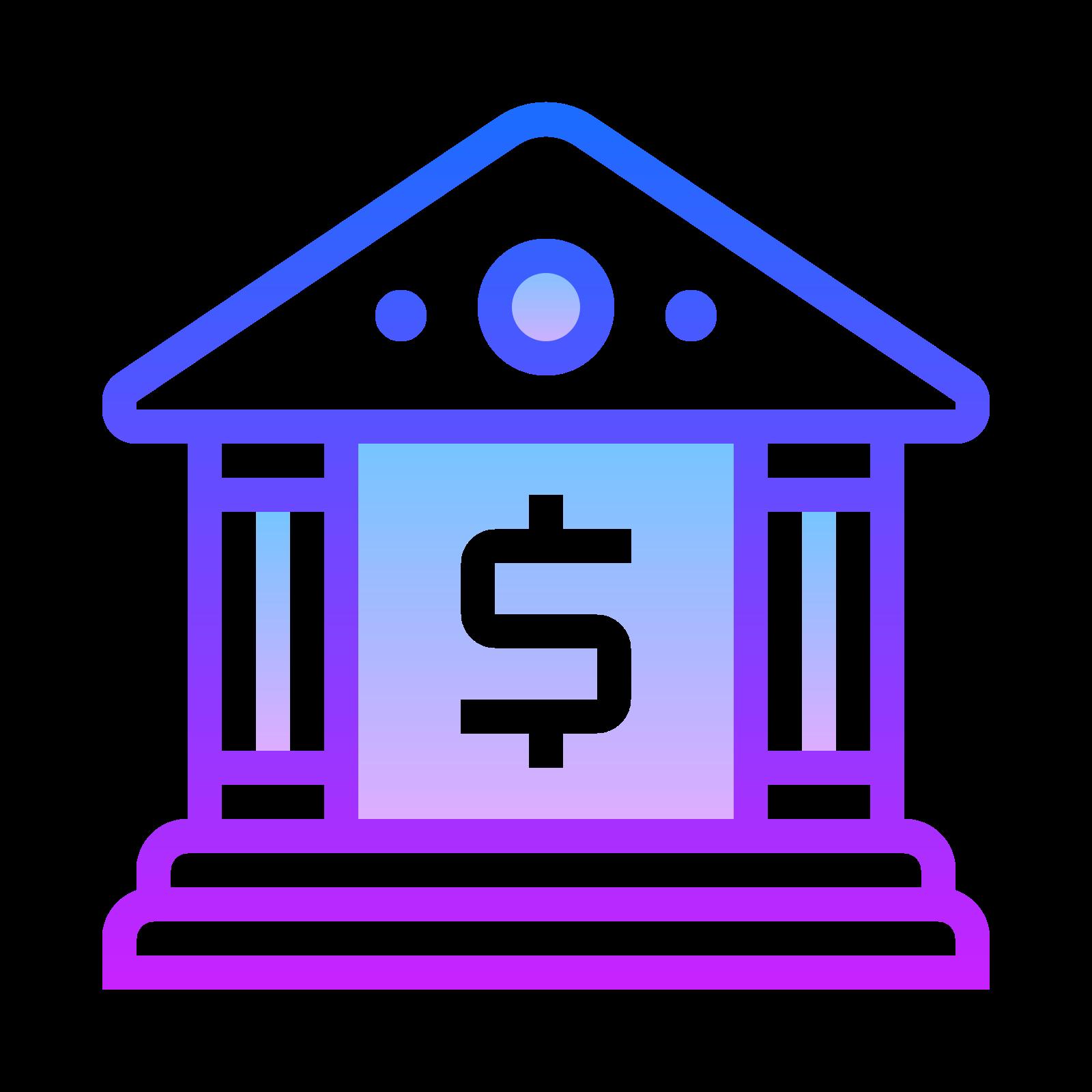 Здание банка icon