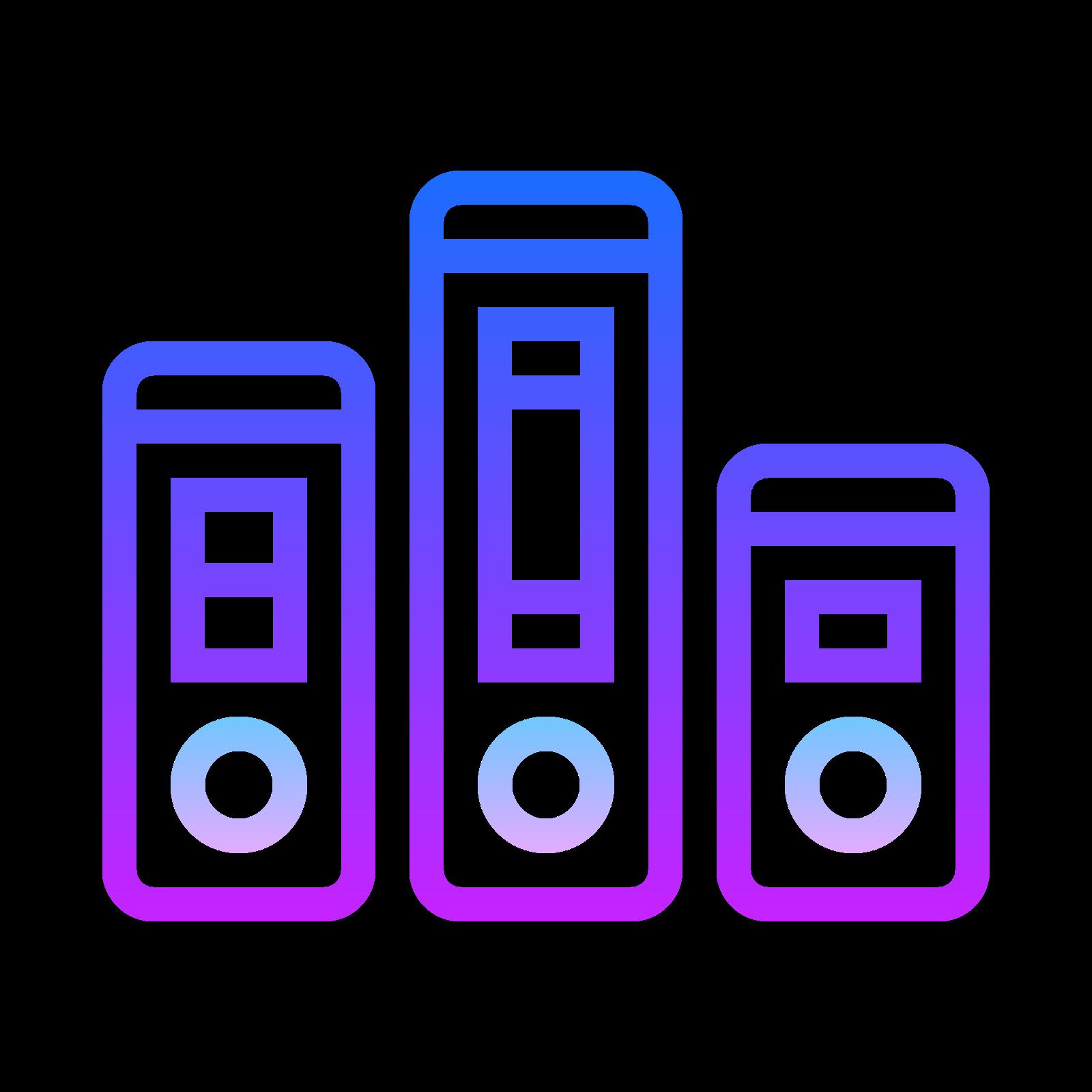 活页夹文件夹 icon