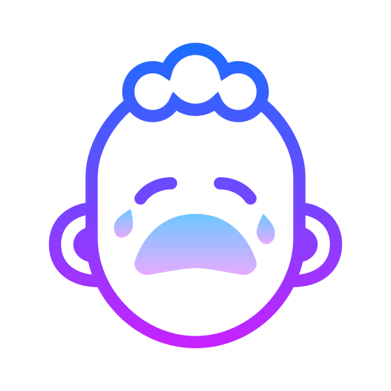 Crying Baby icon. That loud shrill cry that grates your nerves and you want to get as far away from it as quickly as possible. It's the thing that can wake you up in the dead of night and you know exactly what it is.