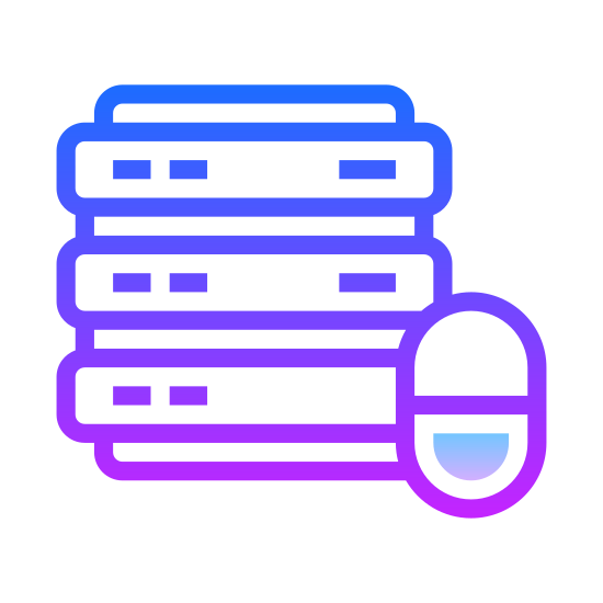 Recupero dati icon. The icon is a picture for Data Recovery. It is the shape of 3 checker-piece like discs stacked on top eachother, with a plus symbol located on the bottom right.