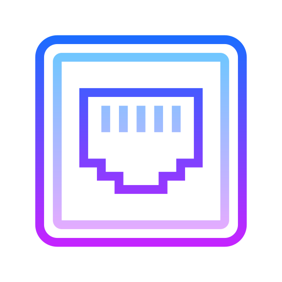 Ethernet On icon