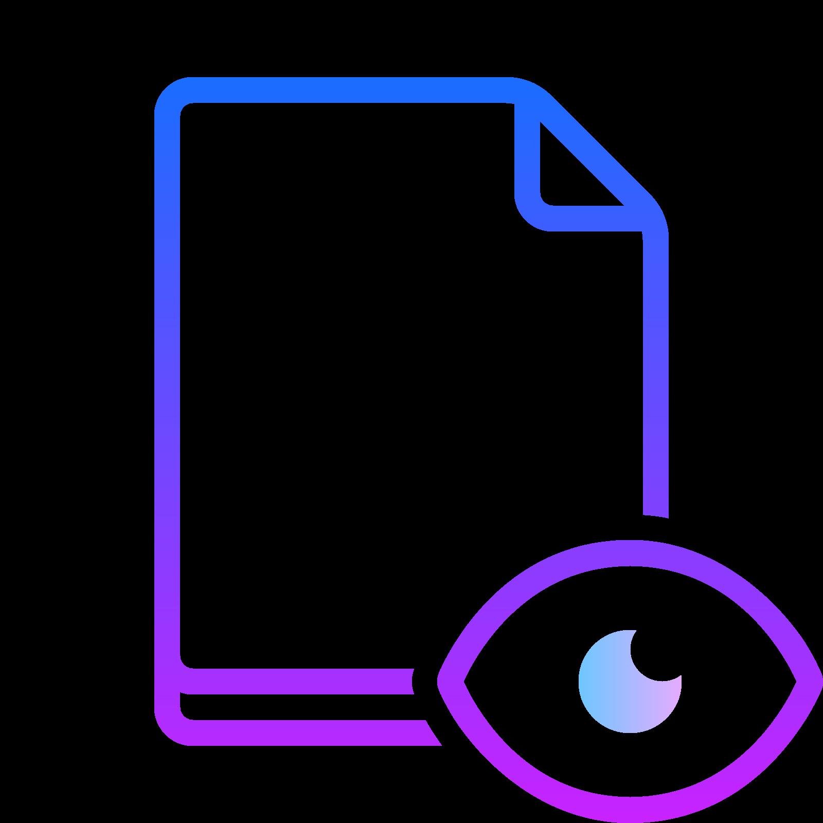 File Preview icon