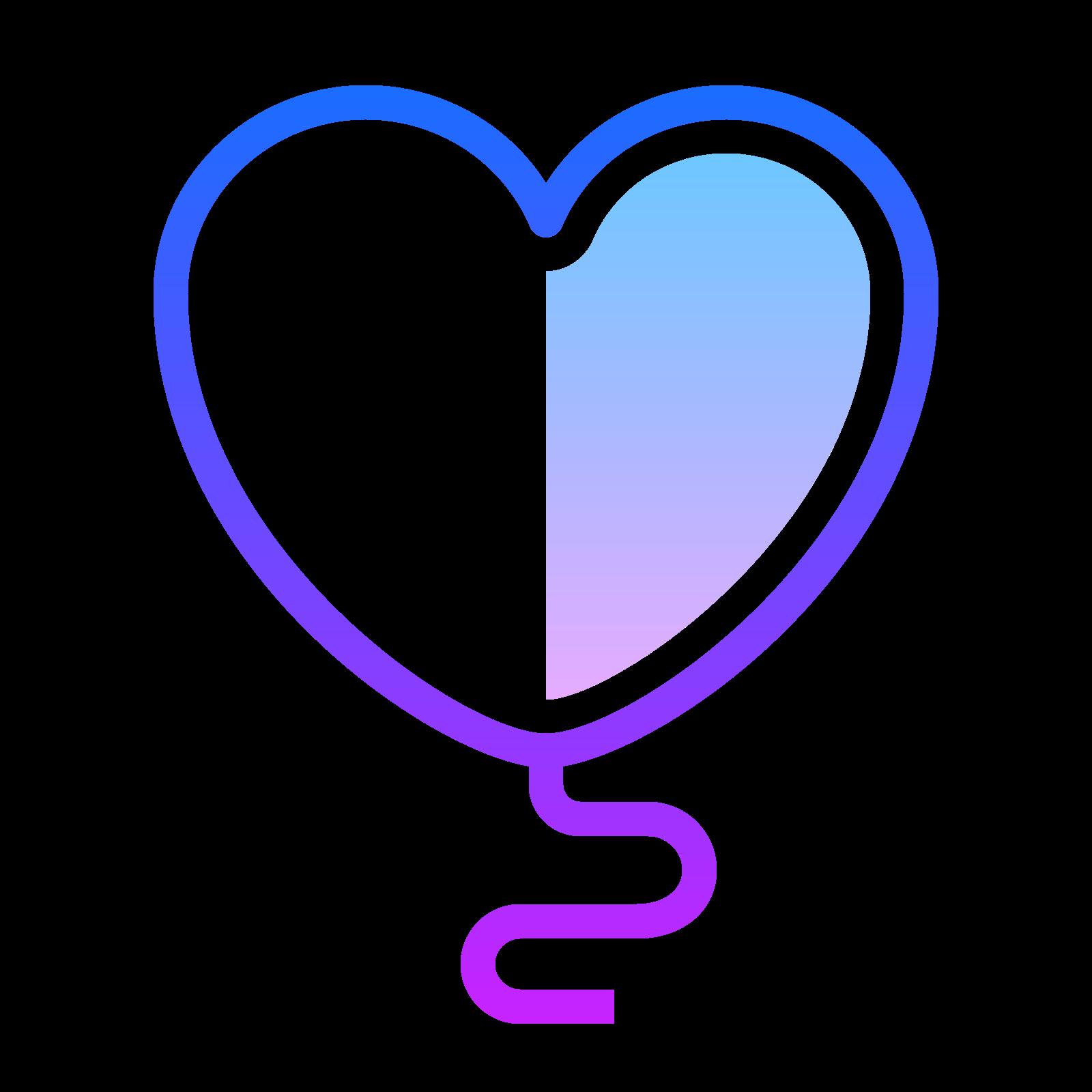 Globo de corazón icon