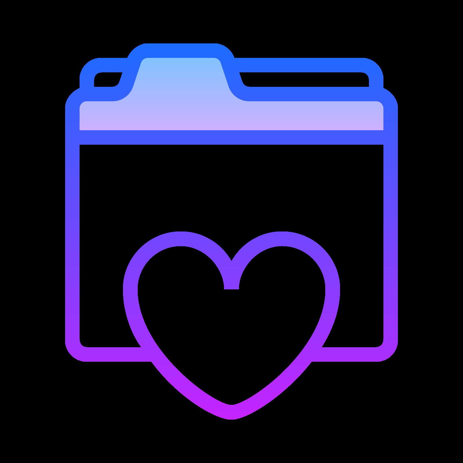 Folder Ulubione icon