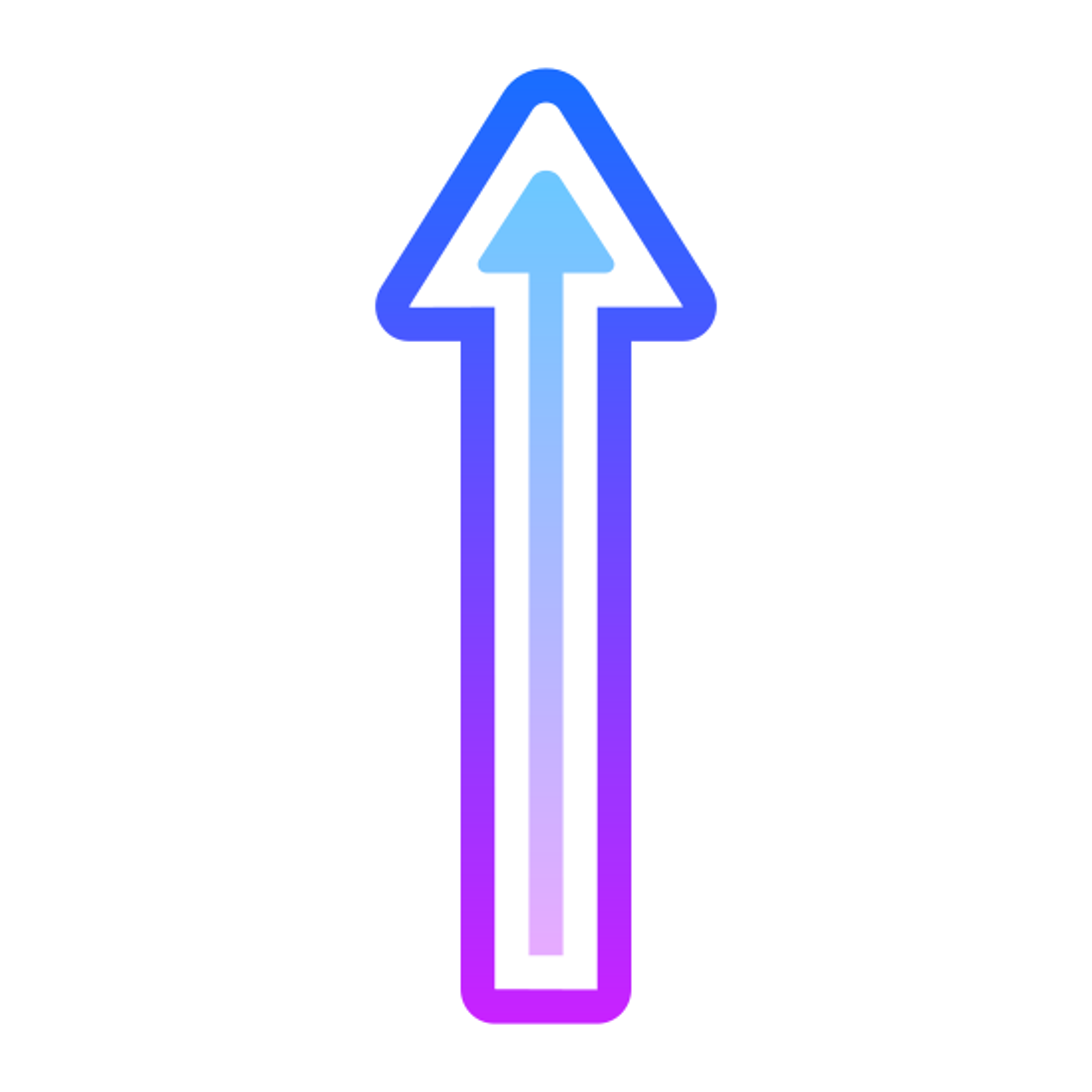 Long Arrow Up icon