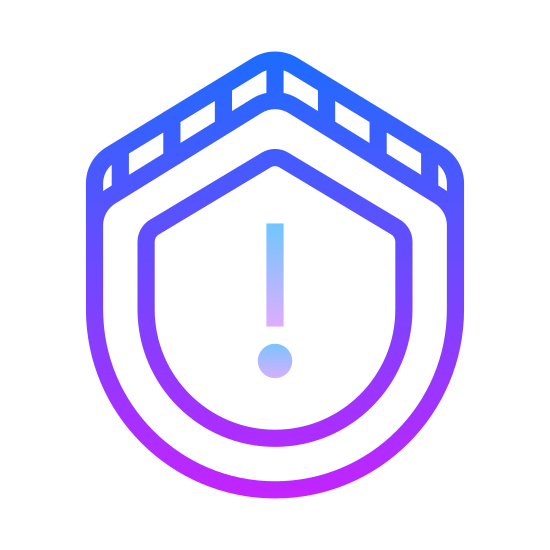 Warning Shield icon
