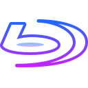 Blu-ray logo icon
