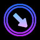Arrows in Circle icon