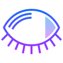 Closed Eye icon