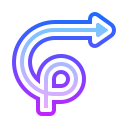 Curly Arrow icon