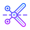 Scissors Outline icon