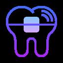 Brackets dentales icon