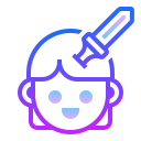 Determined icon