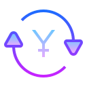 Exchange Yen icon