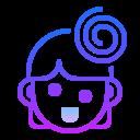 Exuberant icon