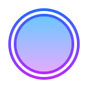 Círculo rellenado icon