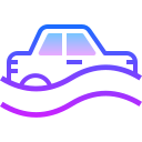Flood Car icon