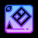 几何破折号 icon