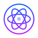 Atom Circled icon