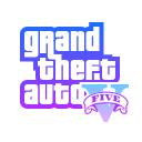 Grand Theft Auto V logo icon